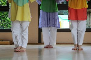 Ecole langage musical - pieds
